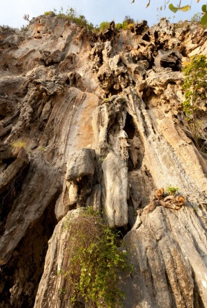 Laoliang is best known in climbing circles for its bolted sport climbs.