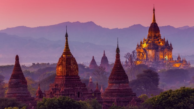 Bagan is home to more than 2200 temples and pagodas.
