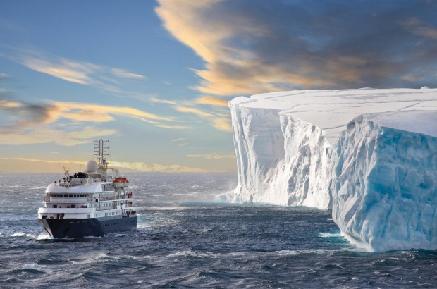 Sailing the Arctic Ocean with Poseidon Expeditions.