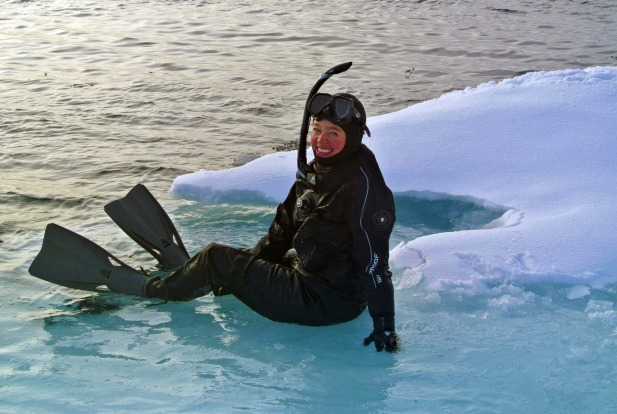 Polar snorkelling in the Arctic with Aurora Expeditions 2.