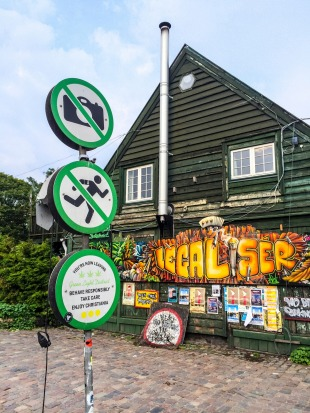 Freetown Christiania, Copenhagen, Denmark.