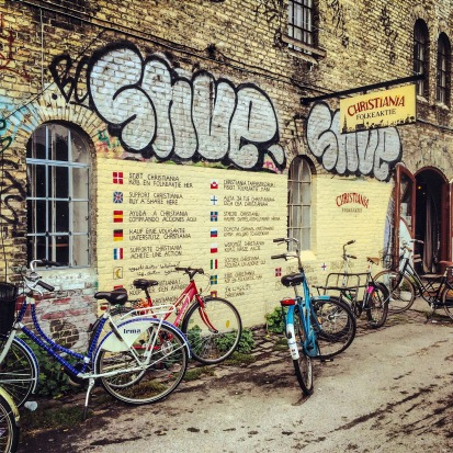 Christiania Freetown Gift Shop, Copenhagen, Denmark.