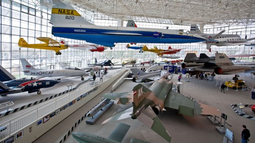 The TA Wilson Great Gallery, at The Museum of Flight.