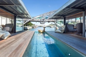 Paris's first floating hotel: OFF Paris Seine.