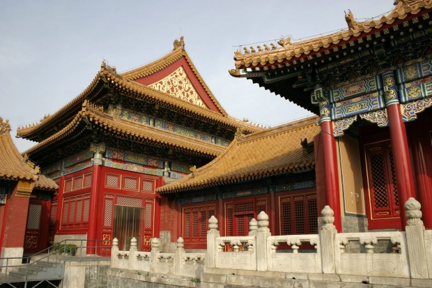 1 FORBIDDEN CITY, BEIJING, CHINA. The mortar of this colossal complex, enclosed in defensive walls four kilometres ...