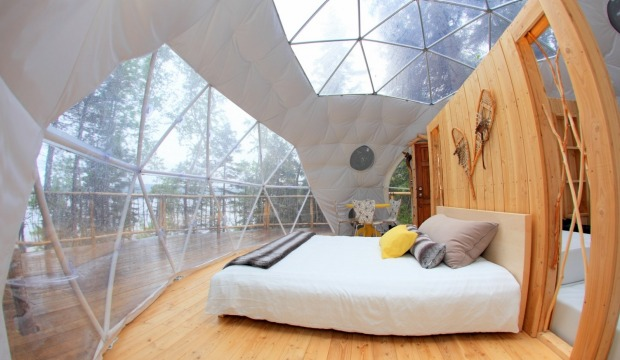 PARC AVENTURES CAP JASEUX: Here's an outdoor haven for the real adventurer, who likes their accommodation just a little ...