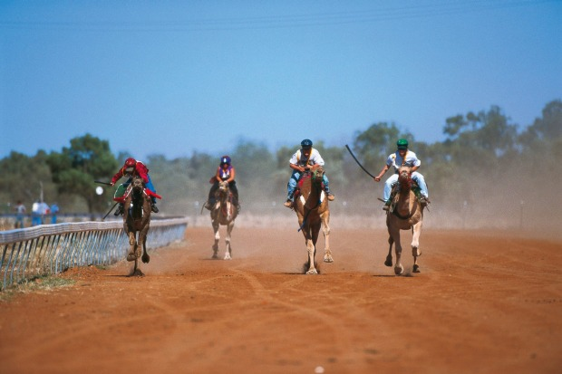 THE BOULIA CAMEL RACES: What Birdsville is for horses, Boulia is for camels. The middle-of-nowhere Queensland town ...