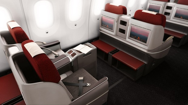 Business class on a LATAM 787-9 Boeing Dreamliner.
