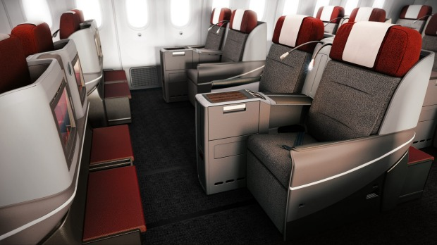norwegian business class