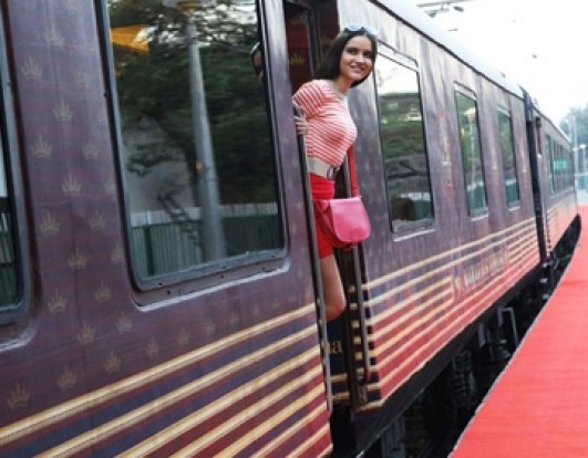 The Maharajas' Express, India: The cruise ship on land feel is clearer on Indian luxury train journeys, however. Some of ...