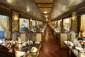 The Maharajas' Express: India's premier train trip.