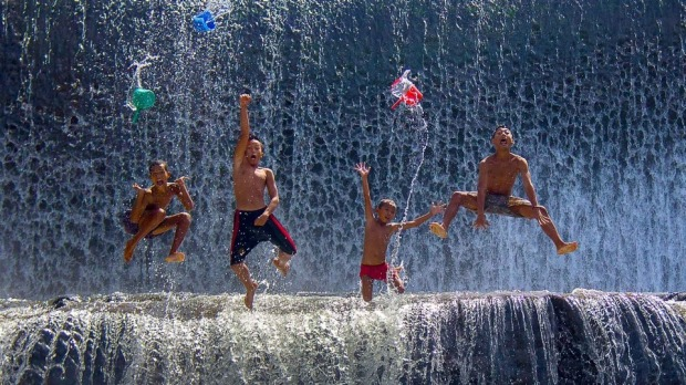 The dam is made on a river Tukad Unda – a major one in Bali – in Klungkung. It is a popular spot among the locals, who ...
