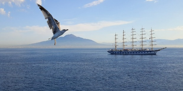 During a cruise around Italy in 2015 and after a day at Pompeii I was eager to take a photo of Mount Vesuvius. While ...