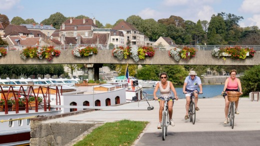 Off the water: Cycling is becoming a popular shore option for river cruisers in Europe.
