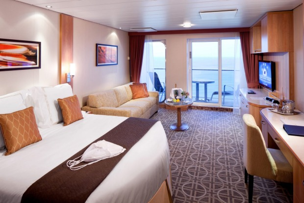 Aqua Class Suite on Celebrity Solstice.