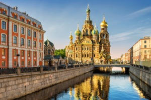 See St Petersburg by small ship.