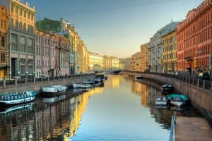 City of St Petersburg, Russia.
