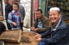On a recent trip to Tibet we wandered down to the open air market around the Lhasa Great Mosque and came across men ...