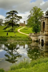 Stowe Gardens in England is one of those amazing concocted landscapes that the English do so well, where vistas of ...