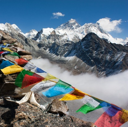 It takes eight or nine days of trekking to ascend to the oxygen-depleted heights of Everest Base Camp, but then as you ...