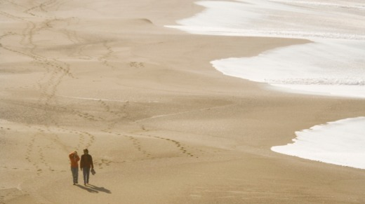 Spectacular empty beaches can be found at Sonoma.