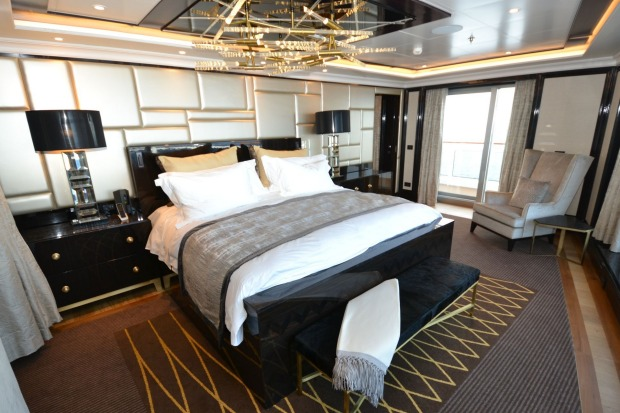 The mattress alone for the Regent Suite's king-size bed costs $US90,000.