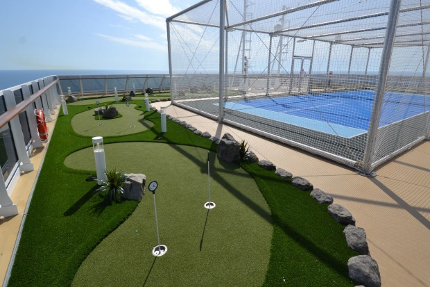 Anyone for mini-golf, or tennis?