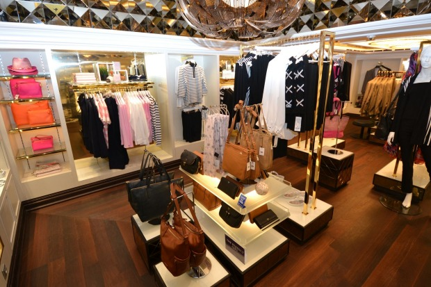 If you haven't spent enough already, there's always the luxury retail boutiques to hit.