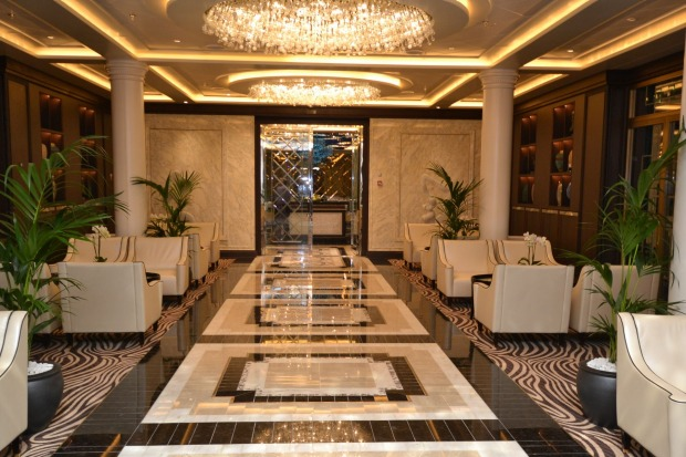Even the lobbies have a distinctly five-star feel.