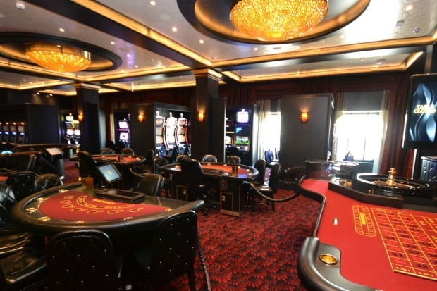 If winning life's lottery isn't enough there's always the onboard casino.