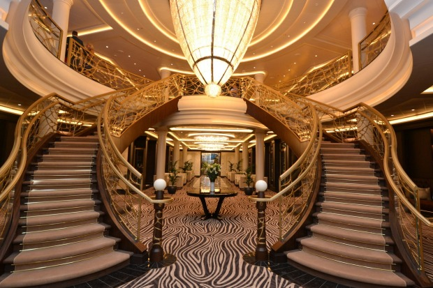 <b>The world's most luxurious cruise ship revealed</b><br> Grandeur on a grand scale is what the <i>Seven Seas ...