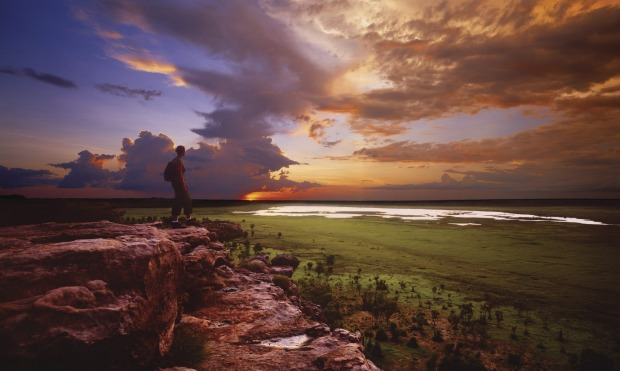 The Ubirr Sunset, a beautiful end to an enthralling day in the Kakadu National Park.