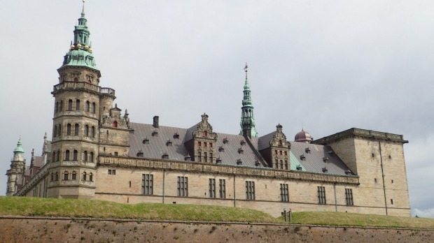 Kronborg Castle, the setting of William Shakespeare's tragedy Hamlet.
