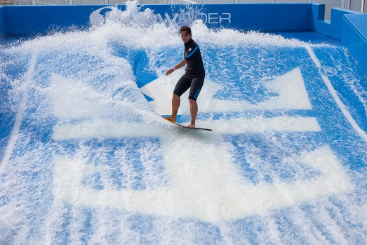 Flowrider on Ovation of the Seas.