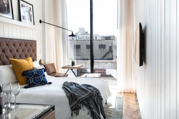 The Williamsburg: Wythe Avenue, in the hip enclave of Williamsburg is adding two new hotels this American summer. While ...
