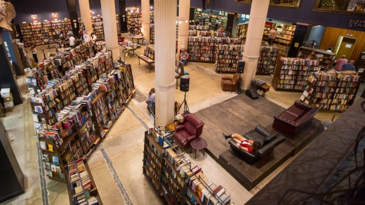 The Last Bookstore is a wonderland for booklovers.