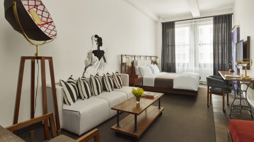 Refinery Hotel, New York Executive Suite.