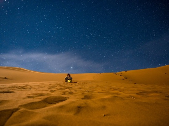 The dunes of the Sahara lit up under a million stars. Earlier this year, my girlfriend and I spent a couple of nights in ...