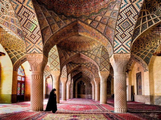 The Nasir ol Molk Mosque also known as the Pink Mosque is a famous mosque in Shiraz Iran.The mosque includes extensive ...