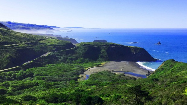 The misty Pacific Coast north of Jenner is worth taking your time over.