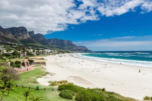 The Twelve Apostles of Camps Bay, South Africa.