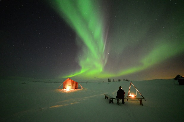 Seeing the Northern Lights, at Bjorkliden, Sweden, is an experience like no other.