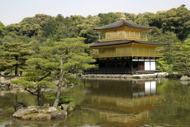 Kinkaku-ji (Golden Temple) is  a Kyoto icon.