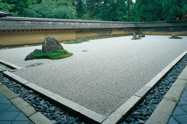 Ryoan Temple.