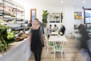 The light-filled interior of Bowral's new Grand Bistro.  Photo: supplied