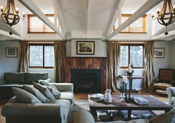 The main guests' lounge area at The Loch, Berrima.  Photo: supplied