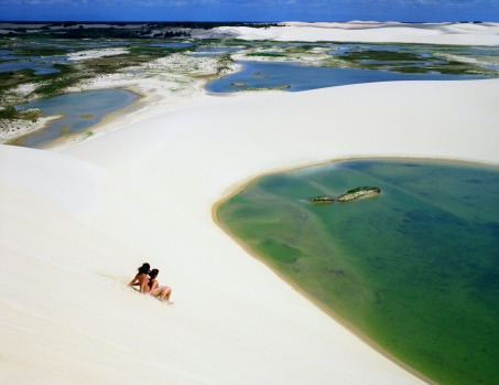 Dunas Tatajuba, the sand dunes just outside Jericoacoara, Brazil.