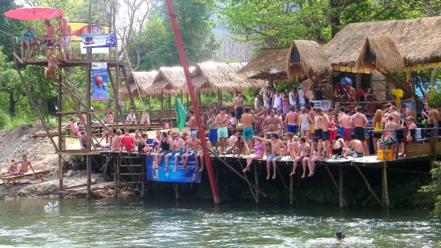 Many Xennials were probably travelling in South-East Asia when tubing in Laos was a thing.
