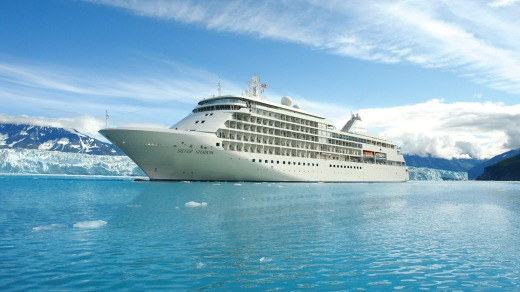 The Silver Shadow offers a seven-night luxury cruise, north-by-northwest along Alaska's Inside Passage.