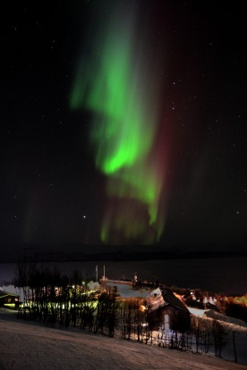 The Northern Lights can appear as ribbons, bows or spirals.